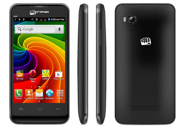 Micromax Bolt A36 Features and Specifications