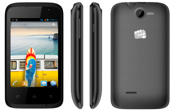 Micromax Bolt A37B Features and Specifications