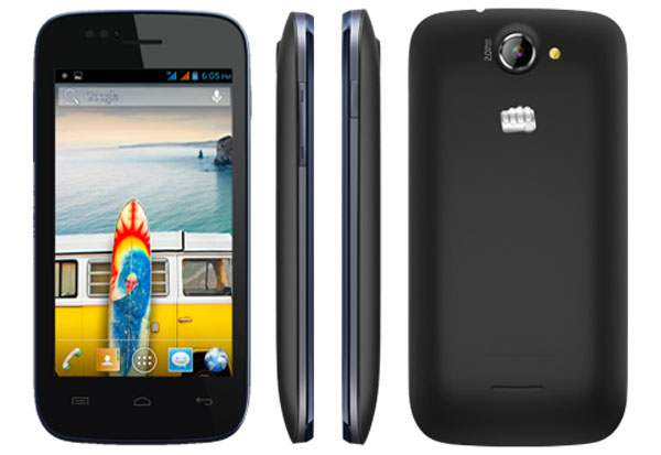 Micromax Bolt A47 Features and Specifications