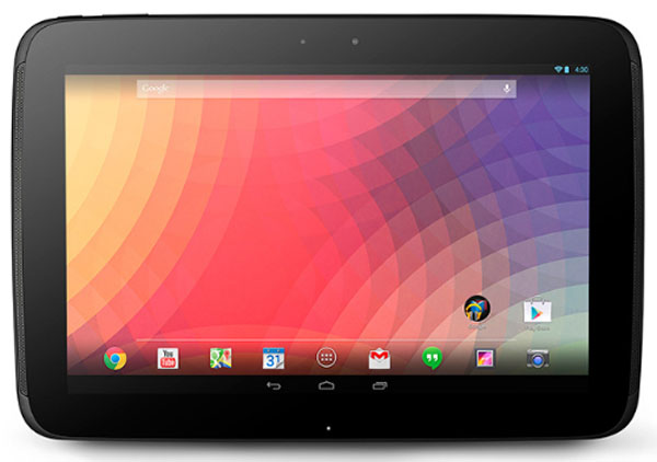 Samsung Google Nexus 10 (GT-P8110) Features and Specs