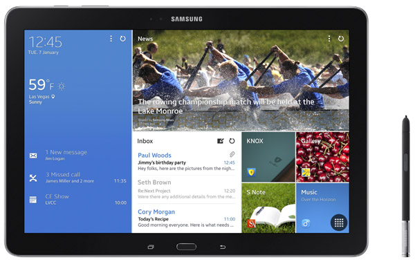 Samsung Galaxy Note Pro 12.2 Features and Specs