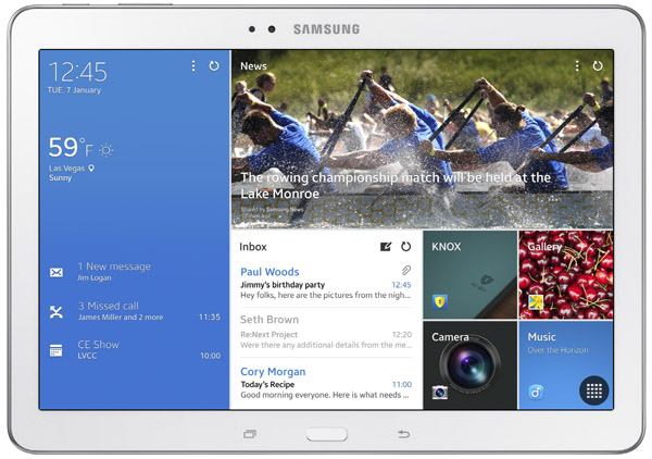 Samsung Galaxy Tab Pro 10.1 Features and Specs