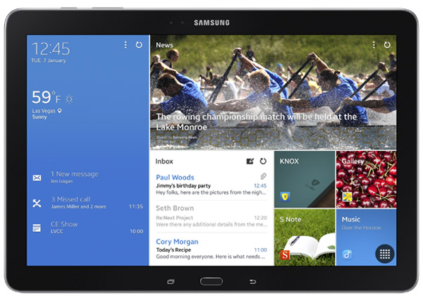 Samsung Galaxy Tab Pro 12.2 Features and Specs