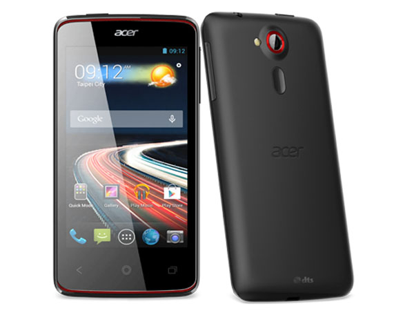 Acer Liquid Z4 Features and Specifications