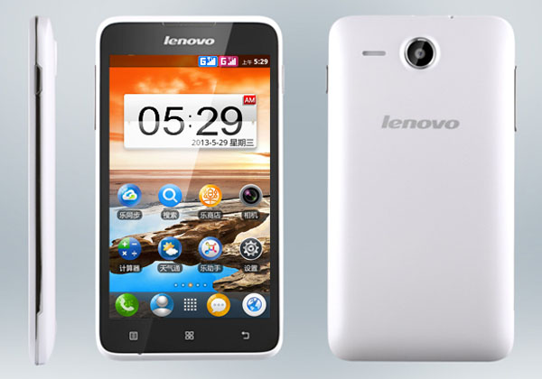 Lenovo A529 Features and Specifications