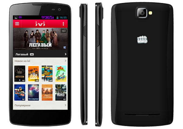 Micromax Canvas Tube A118R Features and Specifications
