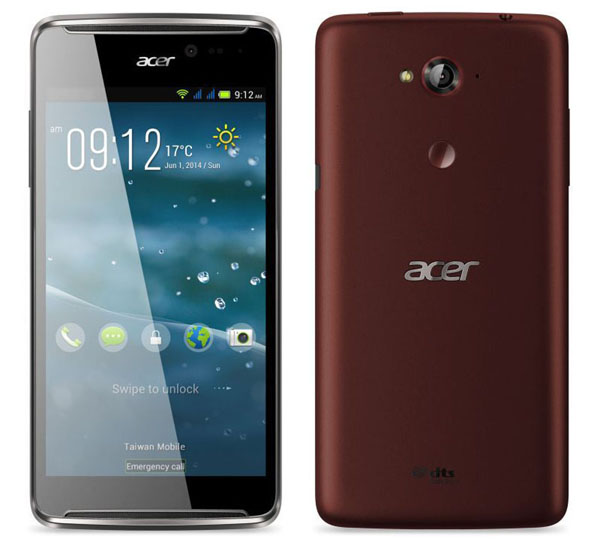 Acer Liquid E600 Features and Specifications