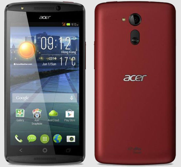 Acer Liquid E700 Features and Specifications