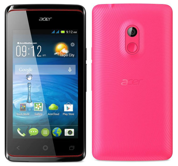 Acer Liquid Z200 Features and Specifications
