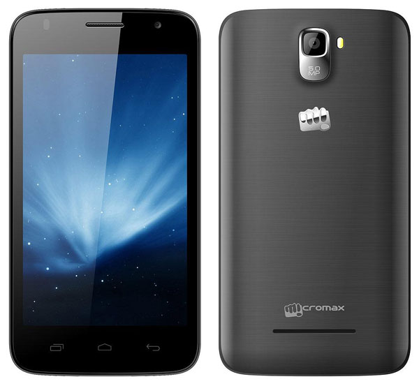 Micromax Canvas A105 Features and Specifications