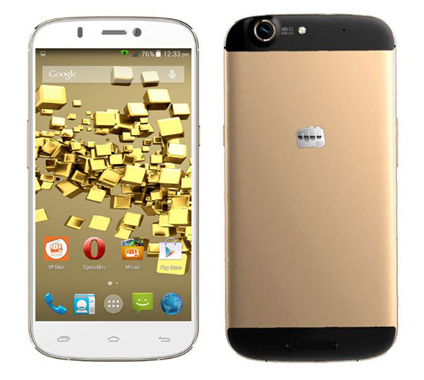 Micromax Canvas Gold A300 Features and Specifications