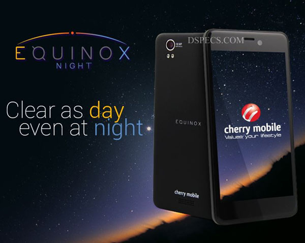 Cherry Mobile Equinox Night Features and Specifications