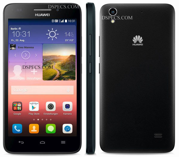 Huawei Ascend G620S Features and Specifications
