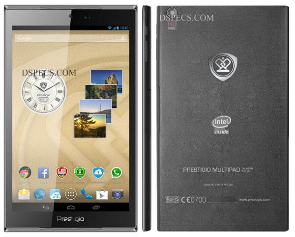Prestigio MultiPad Thunder 8.0i 3G Features and Specifications