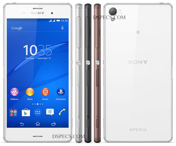 Sony Xperia Z3 Dual Features and Specifications