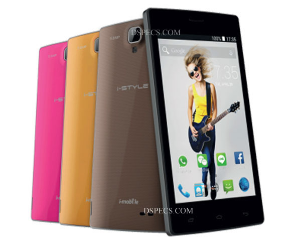 i-mobile i-Style 210 Features and Specifications