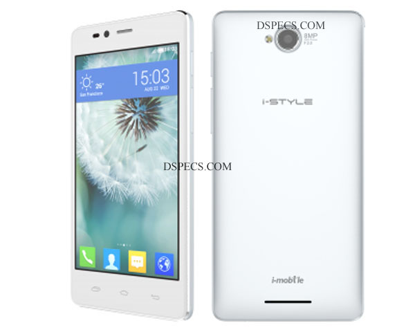 i-mobile i-Style 8.3 DTV Features and Specifications
