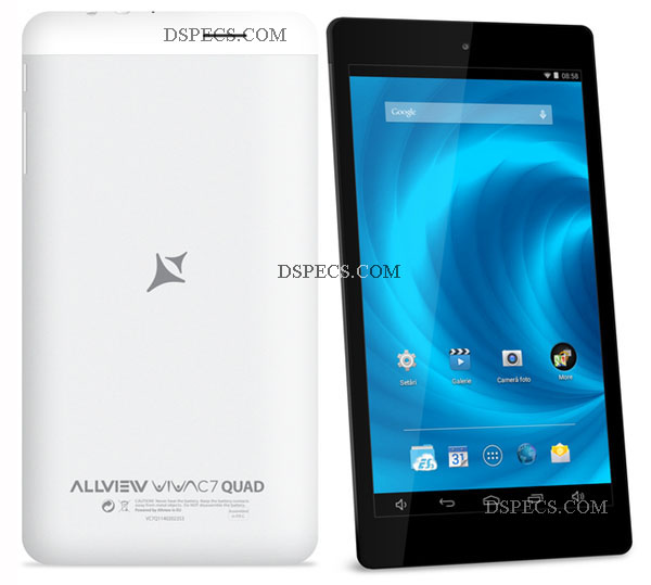Allview Viva C7 Quad Features and Specifications