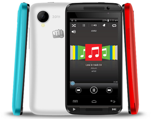Micromax Bolt A082 Features and Specifications