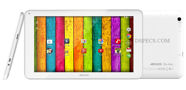 ARCHOS 101b Neon Features and Specifications