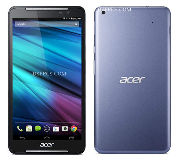 Acer Iconia Tab S A1-724 Features and Specifications