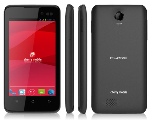 Cherry Mobile Flare Dash Features and Specifications