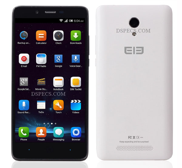 Elephone P6000 Features and Specifications
