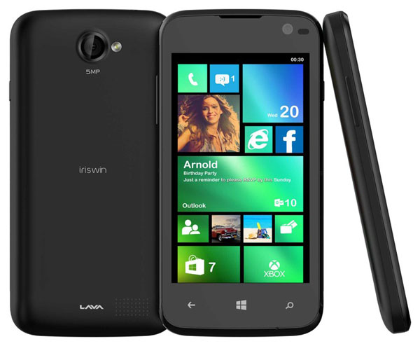 Lava Iris Win1 Features and Specifications