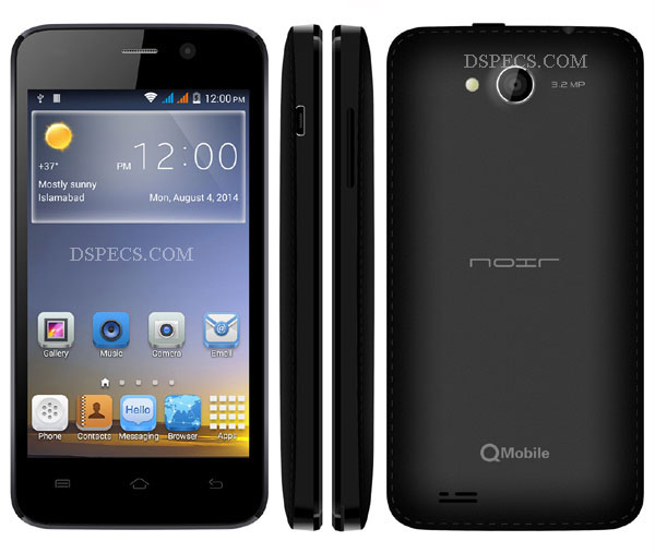QMobile Noir X35 Features and Specifications