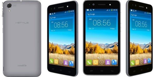 i-mobile i-style 8.6 Features and Specifications