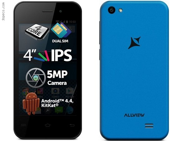 Allview P4 Life Features and Specifications