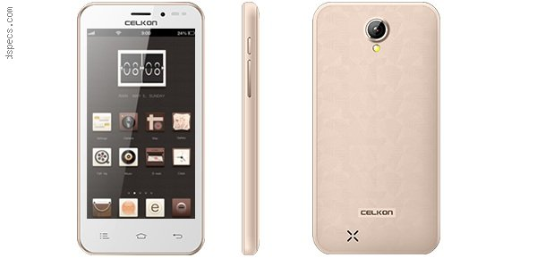Celkon Millennia Q450 Features and Specifications